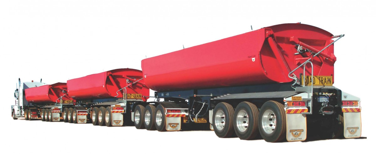 8.4m side tipper
