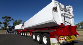 150T B Double Side tipper