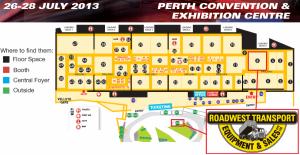 Perth show map